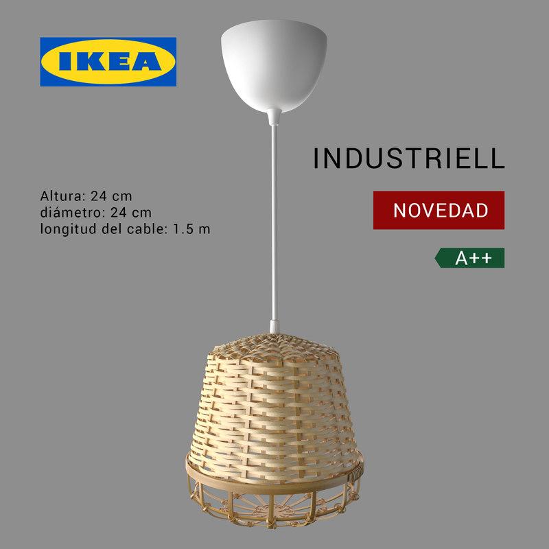 3D ikea industriell