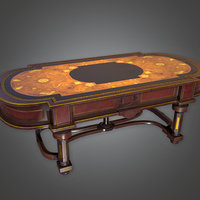 Old Table (Antiques) - PBR Game Ready