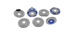 3D brake rotor press hide