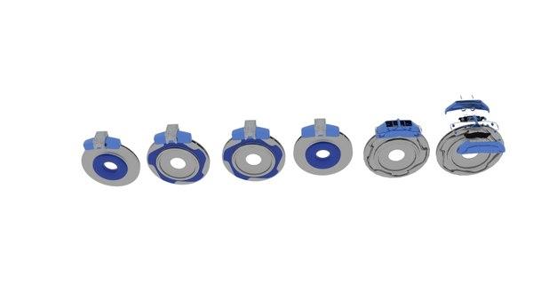brake rotor copy 3D model