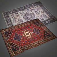Old Rug 03 (Antiques) - PBR Game Ready