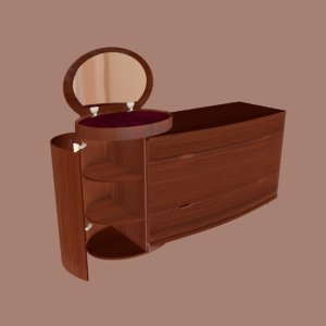 3D alf dolcevita commode