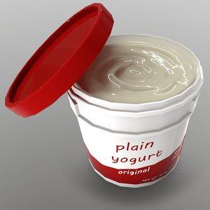 3D yogurt ready games