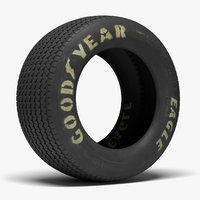 goodyear billboard tire sidewall 3D