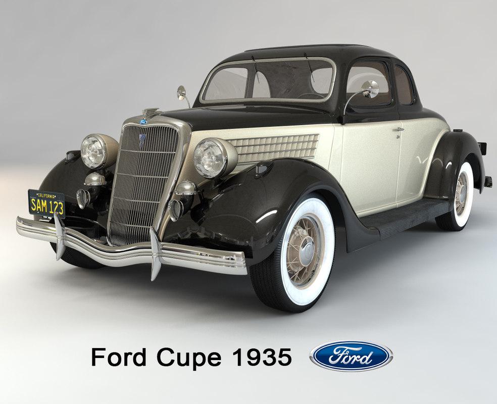 coupe 1935 3D model