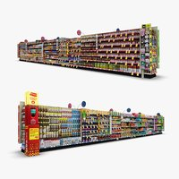 aisle 07 - 3D model