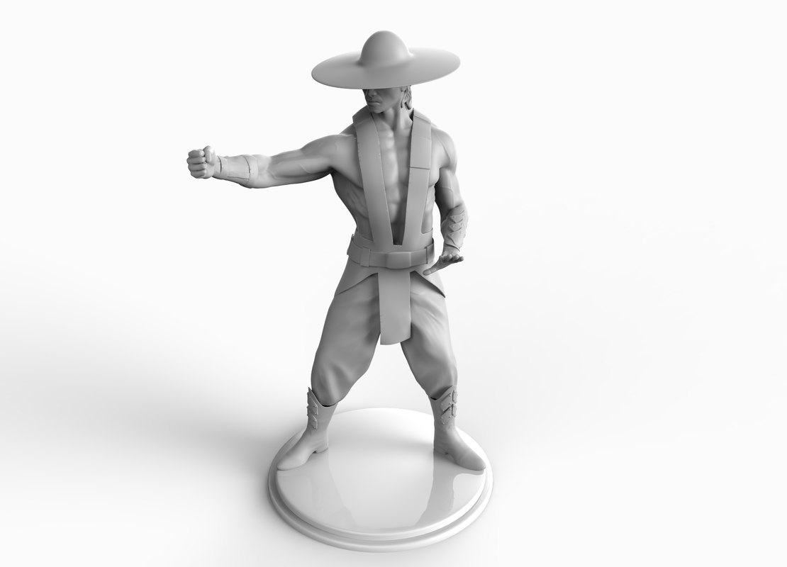 3D figurine printing model