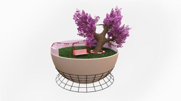 interior element 3D model