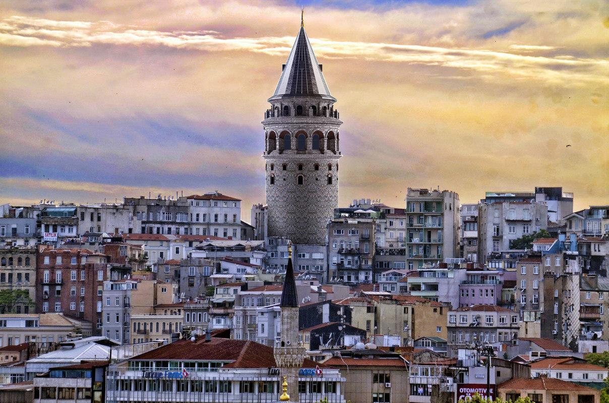galata tower 3D