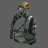 3D ready scba self contained