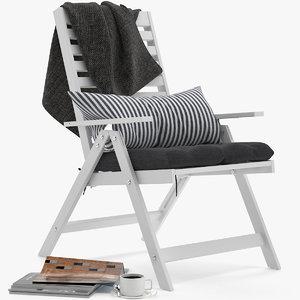 ikea applaro chair 3D