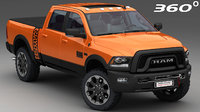 dodge ram 2500 power 3D model