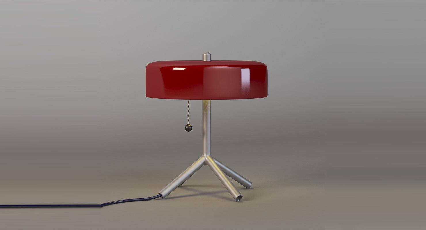 3D light fixture model