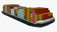 Barge for Container Transportation