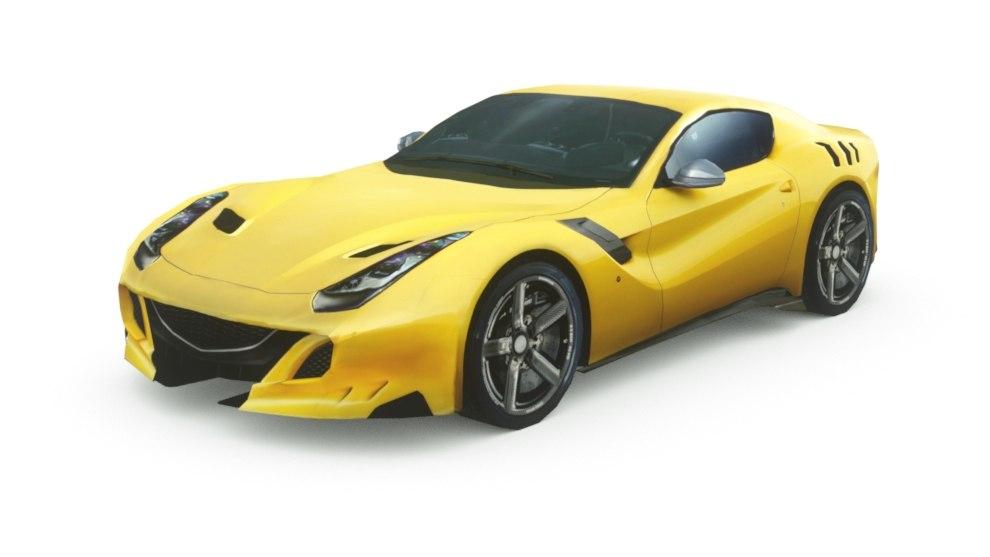 generic supercars car 3D