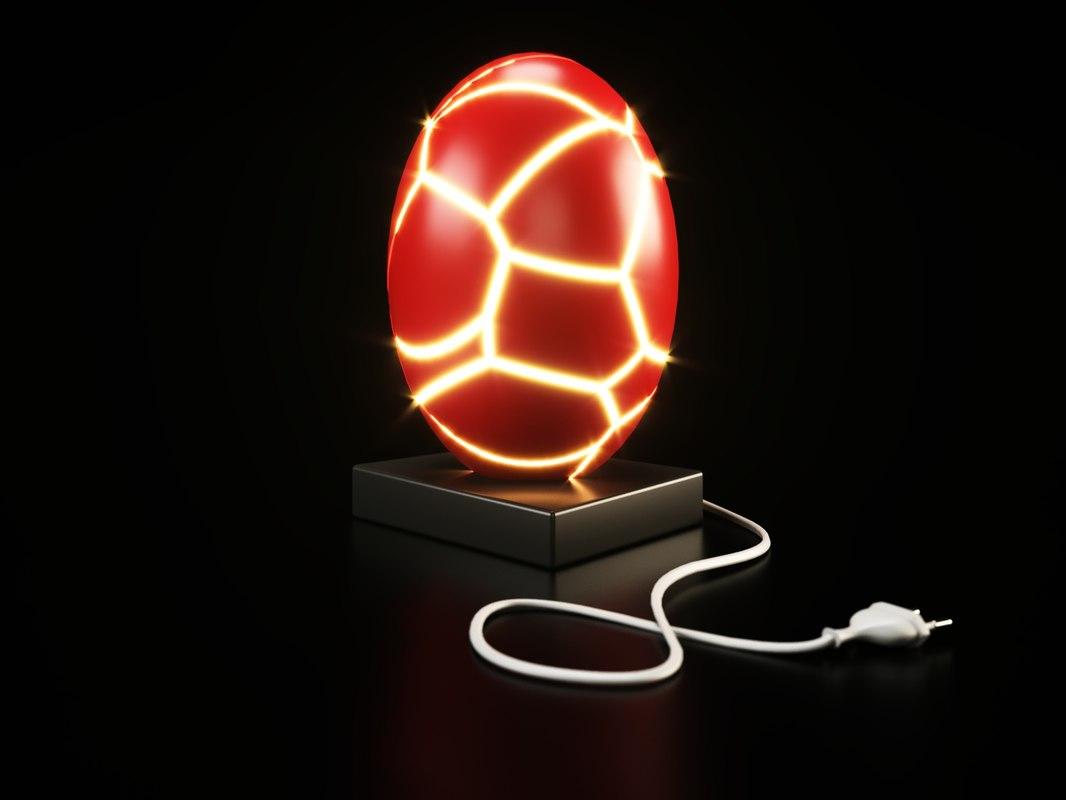3D fracture lamp