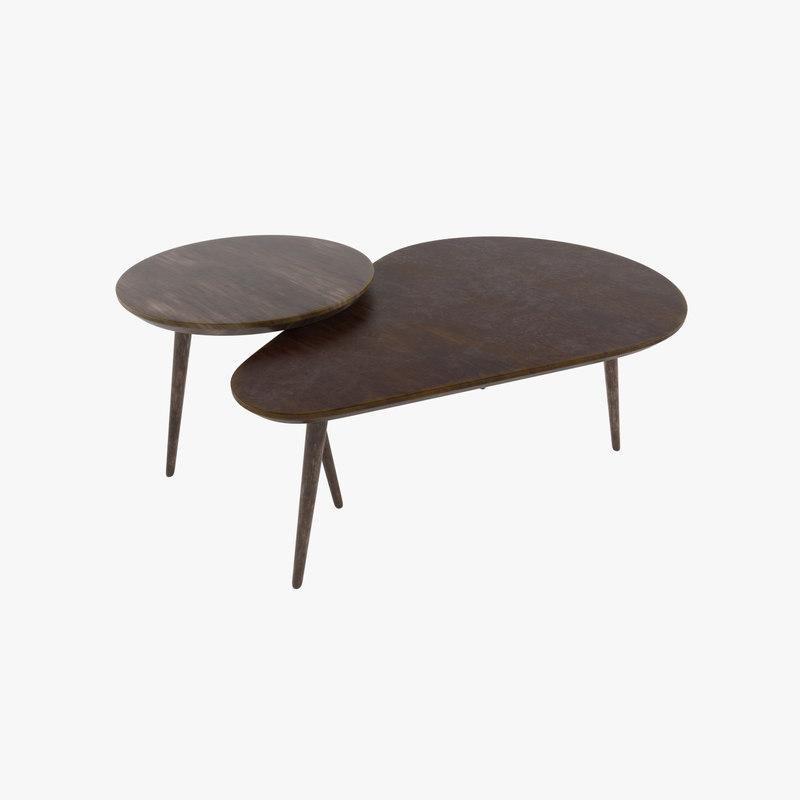 3D table design model