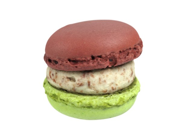 3D photorealistic scanned macaron