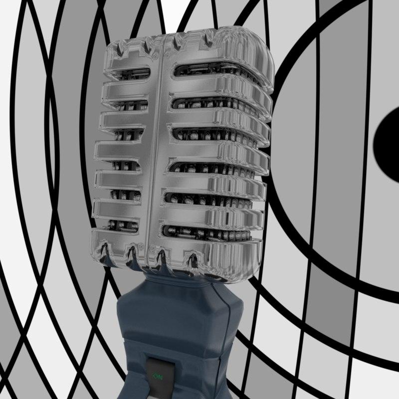 3D microphon mic
