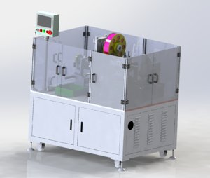 3D plastic bag heating machine