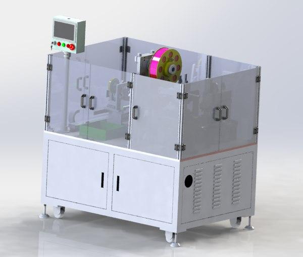 3D plastic bag heating machine