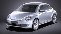 2015 volkswagen ibeetle 3D model