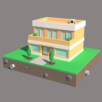 3D building scenes model