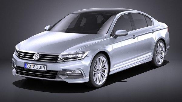 2015 volkswagen r-line 3D model