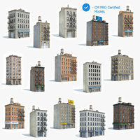 15 Apartment Buildings Collection