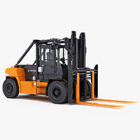 forklift toyota capacity ic 3D model