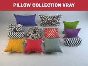 pillows decoration 3D model