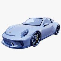 3D porsche 911 gt3 touring model