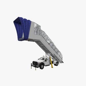 3D airstair f-550 model