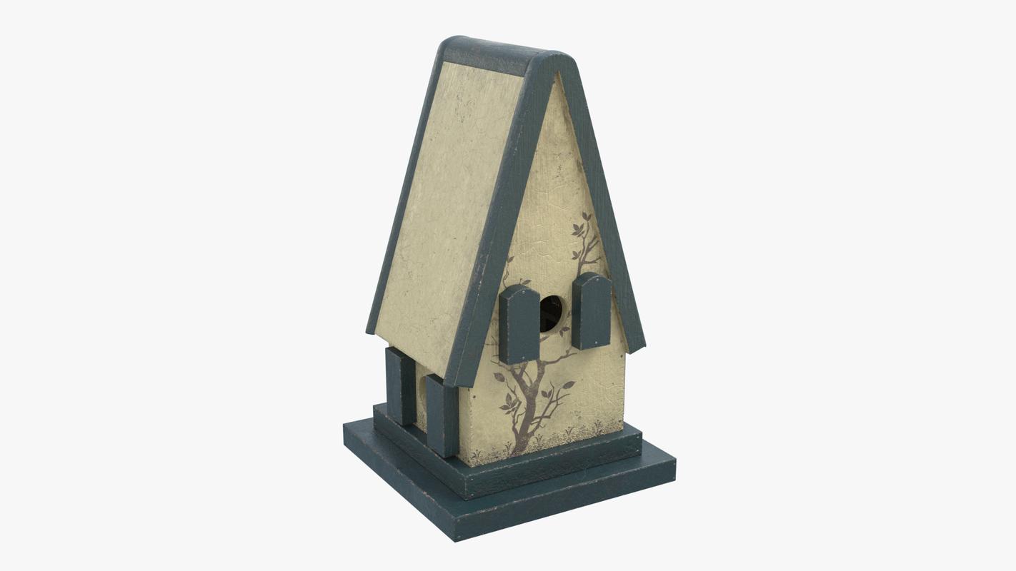 3D model bird house