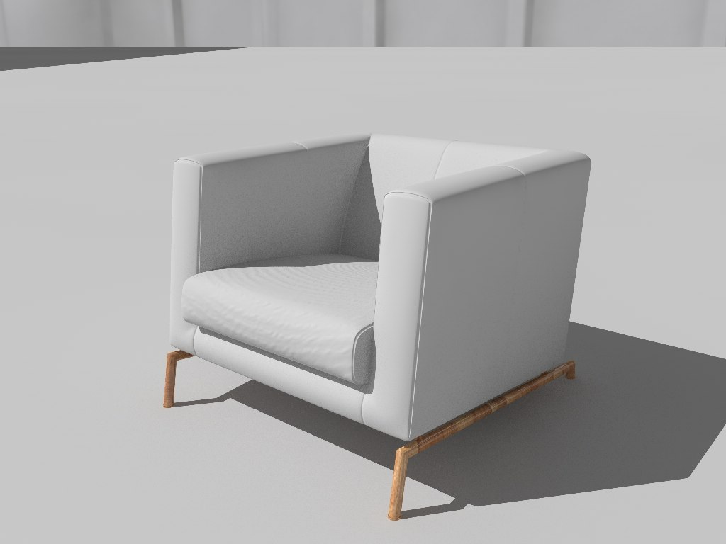 architectural chair model