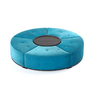 jnl quinto footstool 3D model