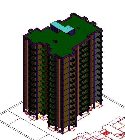 2 3 bhk apartments 3D
