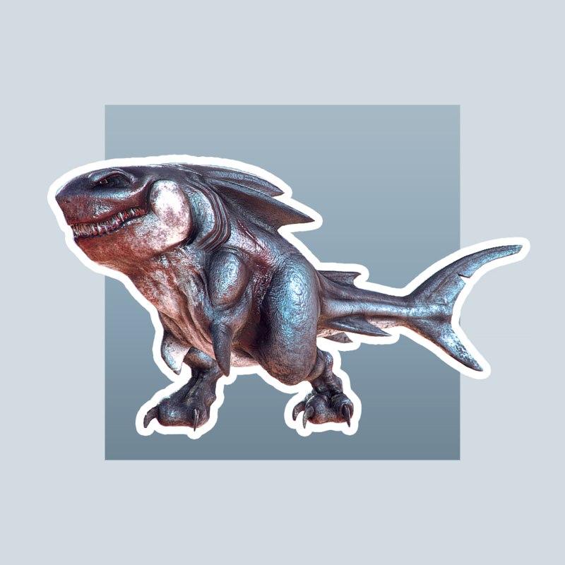 3D megalodon rex animation