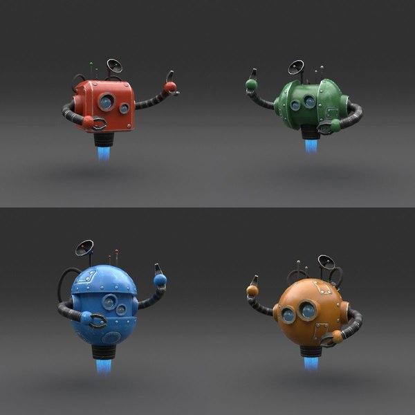 3D robot 01