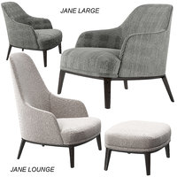Poliform Jane Lounge, Large armchairs