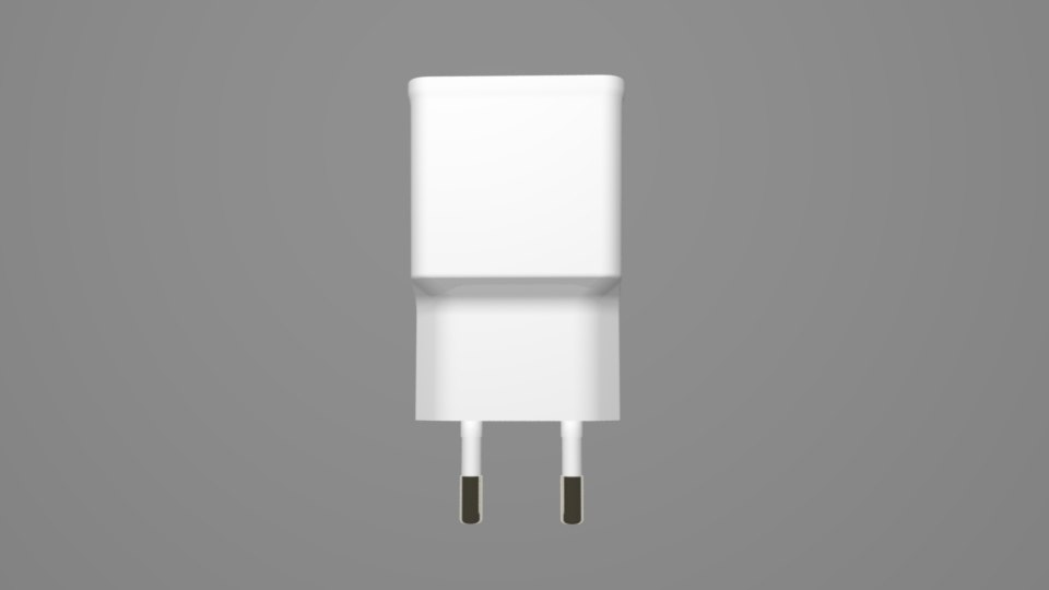 phone charger 3D model