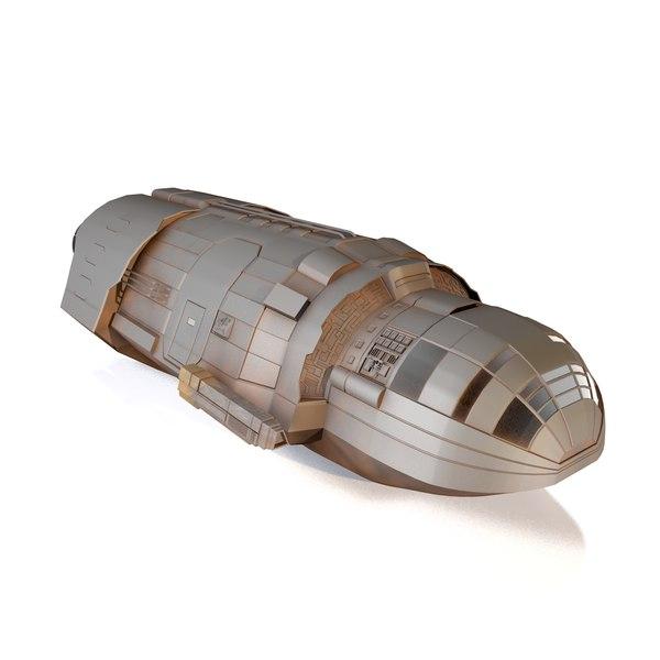3D spacecraft