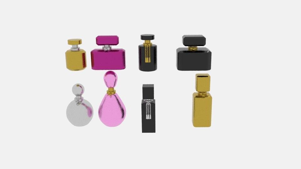 3D perfume pro model