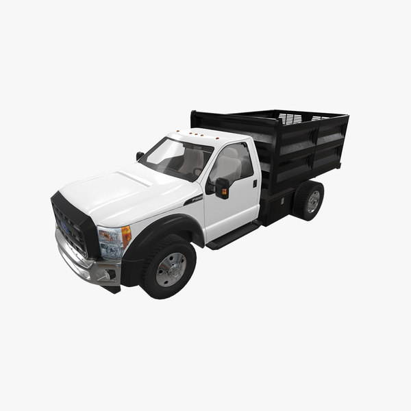 f-550 dump truck model