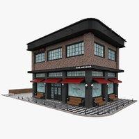 3D bar building