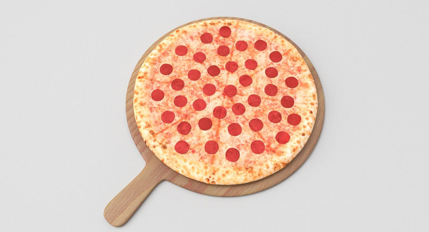 stuffed pizza 3D