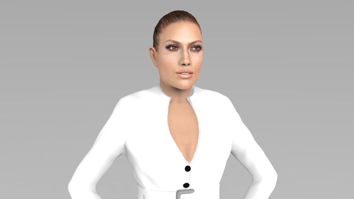 jennifer lopez ready color 3D