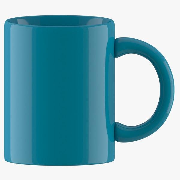 coffee mug dark 3D model