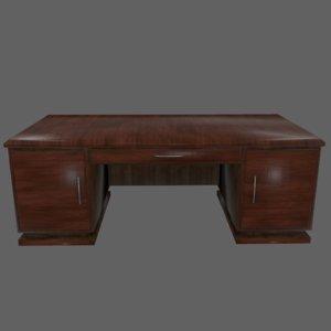 3D model desk 2