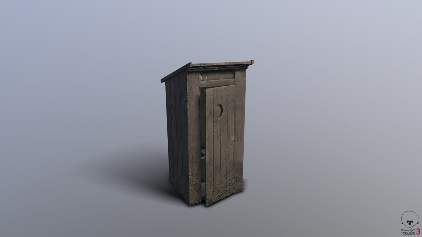 outhouse house model